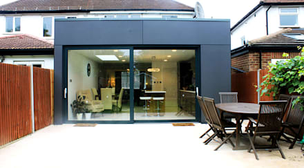 New Malden, Surrey: modern Conservatory by Consultant Line Architects Ltd