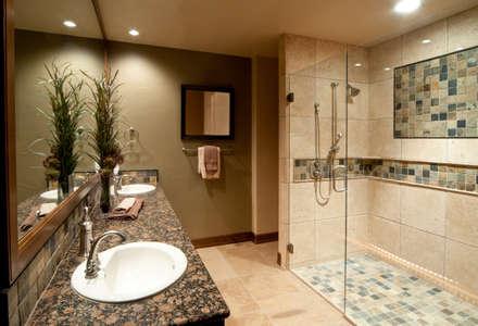 Banyo Tadilatları – Banyo Dekorasyonları : kolonyal tarz tarz Banyo