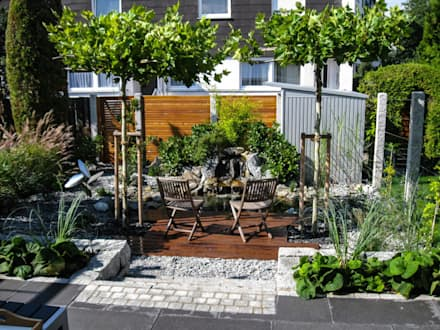 Urbaner Garten Im Herzen Nürnbergs: Moderner Garten Von  GardScape  Private  Gardens By Christoph