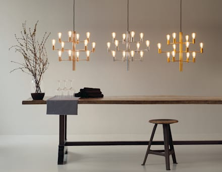 Chandeliers / Manola: modern Dining room by Herstal A/S