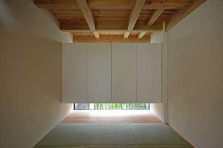غرفة الميديا تنفيذ 空間建築-傳 一級建築士事務所