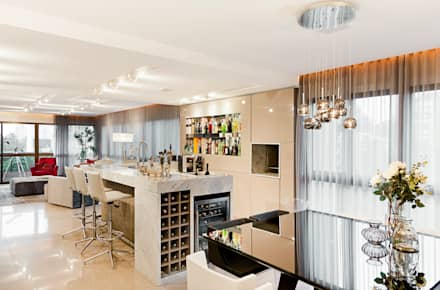 Mundstock Arquitetura의  와인 보관