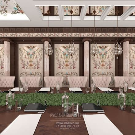 Conference Centres by Студия дизайна интерьера Руслана и Марии Грин
