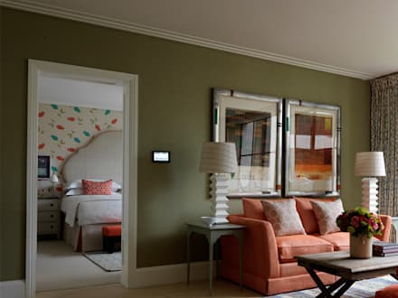 Ham Yard Hotel suite, London:  Hotels by Vanderhurd