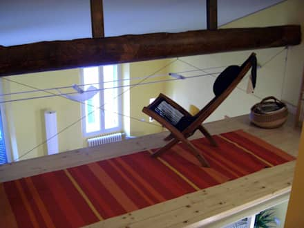 soppalco con vista: Studio in stile in stile Coloniale di Antonella Liguori Architetto