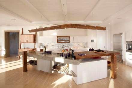 The Kitchen : mediterranean Kitchen by Johnny Grey