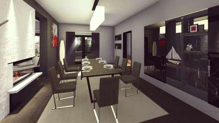 FARGO DESIGNS – URLA VILLA PROJESI: modern tarz Yemek Odası