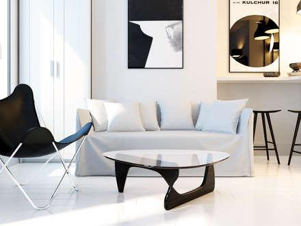 studio design : Salle à manger de style de style Moderne par Agence KP