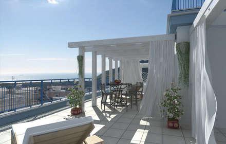 Terrazas de estilo  por SolidART Digital Architecture