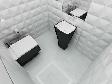 ห้องน้ำ by CAROLINE'S DESIGN