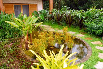 حديقة تنفيذ Gil Fialho Paisagismo