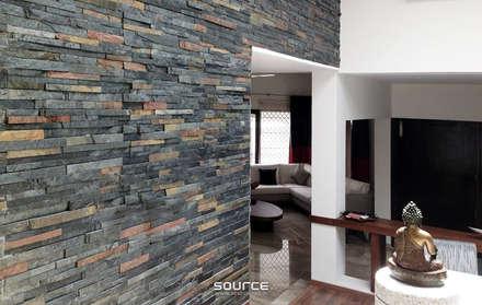Kalro Villa:  Walls by Source Architecture