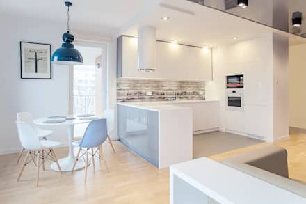 مطبخ تنفيذ DK architektura wnętrz
