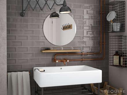 industrial Bathroom by Equipe Ceramicas