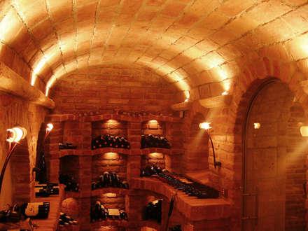 classic Wine cellar by Atelier Markus Petz