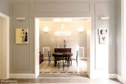 classic Dining room by Azzurra Garzone architetto