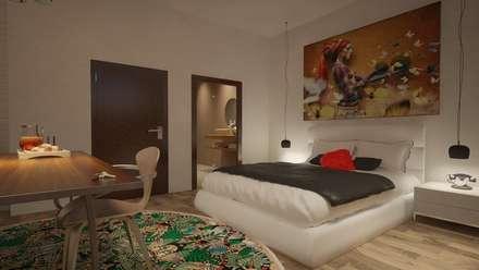 Propuesta para Reforma de un Hotel en Bangkok: Hoteles de estilo  de Eva Sáve