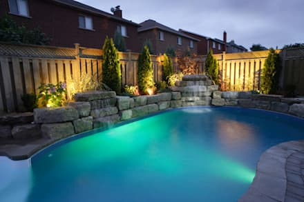 rustic Pool by italiagiardini