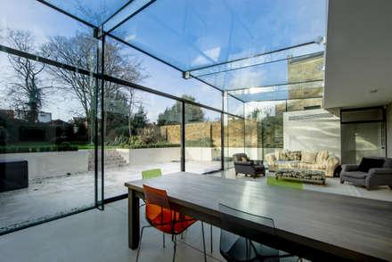Barnes, London: Culmax Glass Box Extension:  Windows  by Maxlight