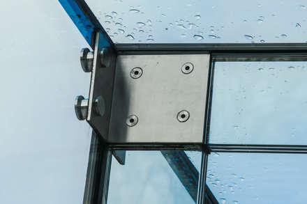 Barnes, London; Culmax Glass Box Extension and Maxlight Doors:  Windows  by Maxlight
