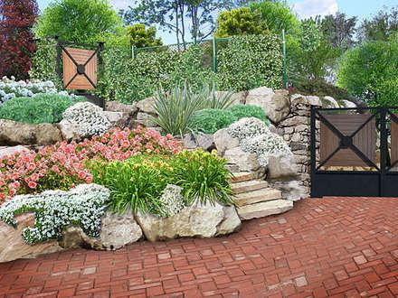 Giardino idee immagini e decorazione homify - Progetto giardino mediterraneo ...