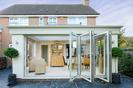 Conservatory greenhouse design ideas and pictures homify for Conservatory doors exterior