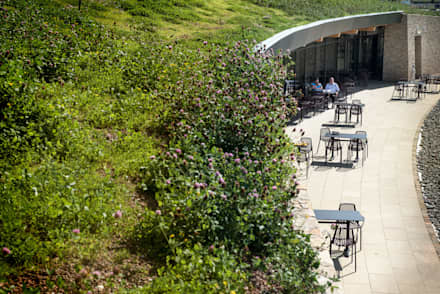 Gloucester Services Green Roof:  Commercial Spaces by Sky Garden Ltd