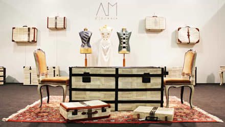 Suitcases on the Wall:  Event venues by AM Florence