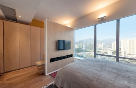 BI's RESIDENCE: minimalistic Bedroom by arctitudesign