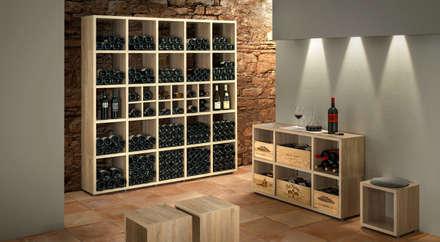قبو النبيذ تنفيذ Regalraum GmbH