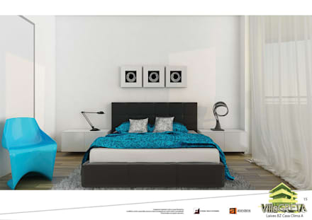 Beautiful come progettare una camera da letto contemporary idee