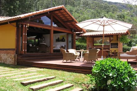 rustic Houses by Cadore Arquitetura