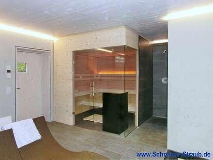 Mass-Sauna: minimalistisches Spa von Saunabau-Passau