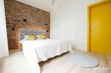 Mieszkanie Wilanów: styl , w kategorii Sypialnia zaprojektowany przez Devangari Design