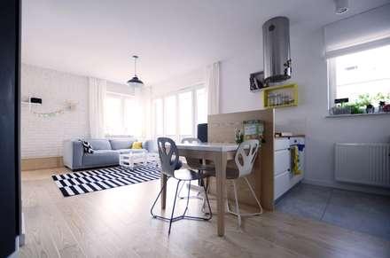Apartament Praga : styl , w kategorii Jadalnia zaprojektowany przez Devangari Design