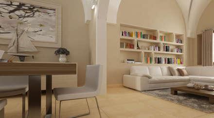 AD Loft - Interno: Spa in stile in stile Eclettico di De Vivo Home Design