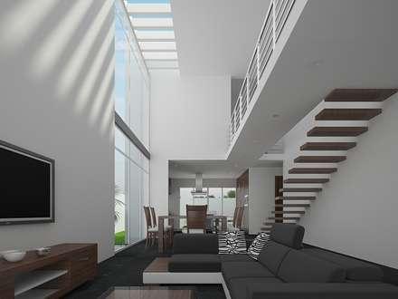 Sala: Salas de estilo minimalista por RTstudio
