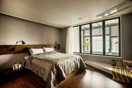 침실 인테리어 디자인 & 아이디어  homify