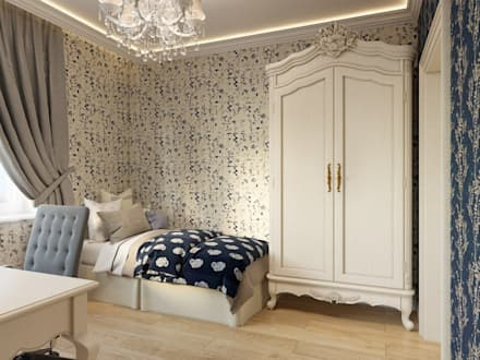 classic Nursery/kid's room by ДизайнМастер