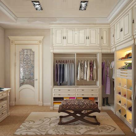 Гардеробная для девушки: Гардеробные в . Автор – Sweet Home Design