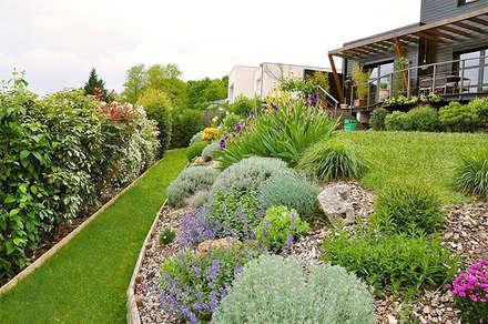 Massif au printemps: Jardin de style de style Moderne par  Sophie Durin | Empreinte Paysagère