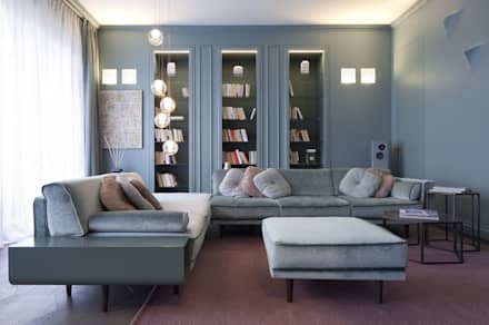 Il Living : Soggiorno in stile in stile Classico di Studio Andrea Castrignano