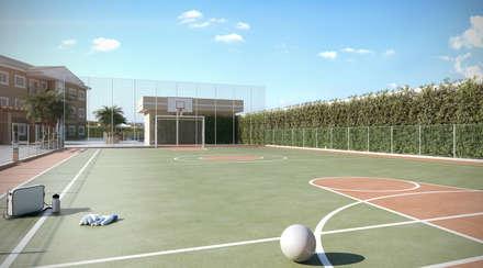 classic Gym by Lodo Barana Arquitetura e Interiores
