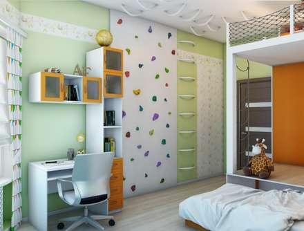 modern Nursery/kid's room by Студия дизайна Elena-art