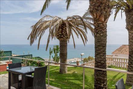 Con vistas al mar y Puerto deportivo: Terrazas de estilo  de Hansen Properties