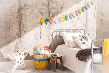 dormitorios infantiles originales : Dormitorios infantiles de estilo rústico de BEL AND SOPH