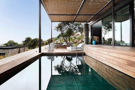 modern Pool by Engel & Völkers Bodrum