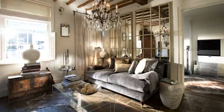 NEW SHOWROOM: eclectic Living room by CARNILL AND COMPANY LIMITED