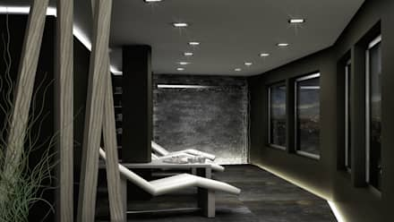 SPA, Roma - Italia: Spa in stile in stile Moderno di redesign lab