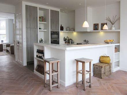 Industrieel Keuken Bar : Inbouwkeukens design ideeën inspiratie en foto s homify